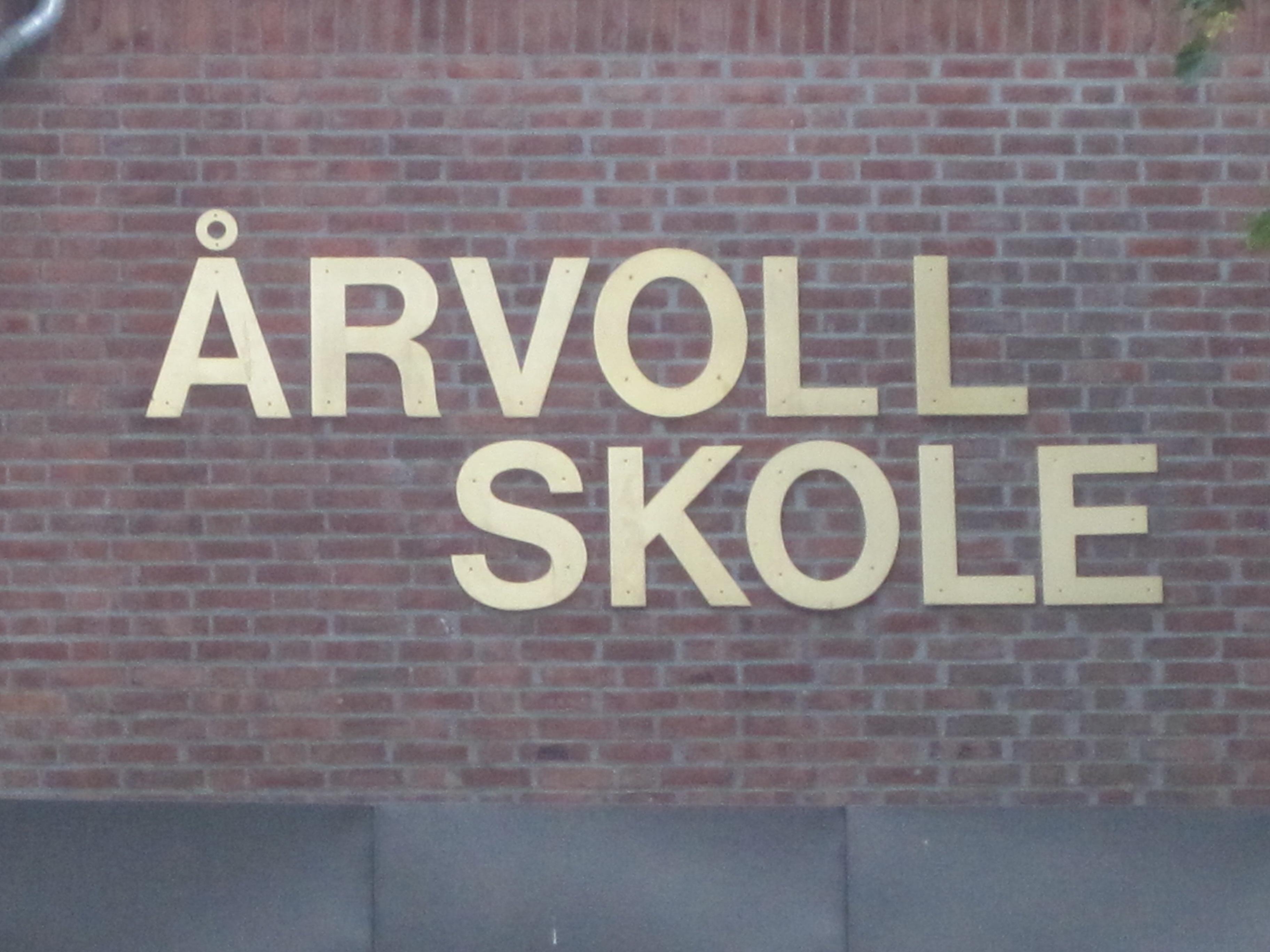 Årvoll skole logo